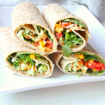 Vegetable Masala Roll