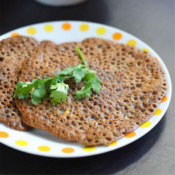 Singhara Chilla, Aloo Sabji