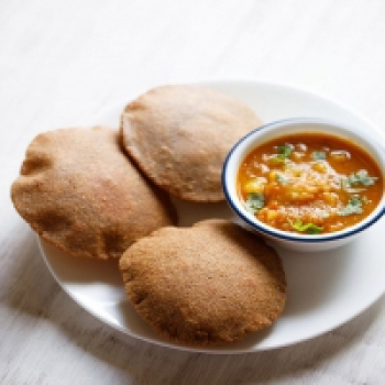 Kuttu Poori, Aloo sabji