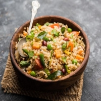 Vegetable Gehu Upma