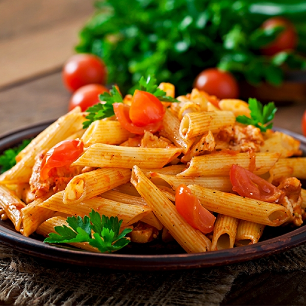Pink Penne Pasta
