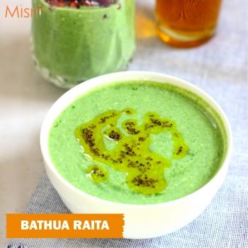 Bathua Raita