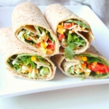 Vegetable Masala Roll