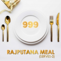 Rajputana Thaal- Serves 2