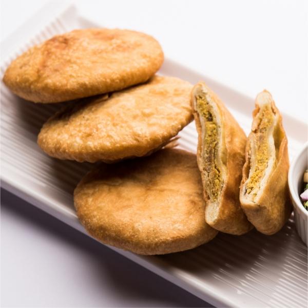Baked Dal Hing Kachori