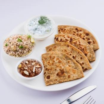 Falahar- Paratha Meal Box