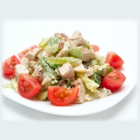 Soya Chunks Salad