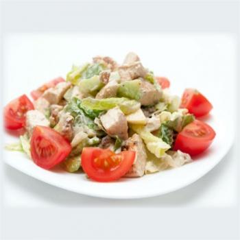 Soya Chunks Salad